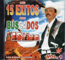 El As De La Sierra Los 15 Exitos Mas Buscados Vol 1   CD New Sealed