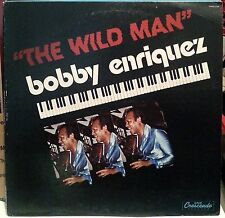 BOBBY ENRIQUEZ : THE WILD MAN * LP * GNP CRESCENDO (GNPS-2144) 1981 LATIN JAZZ!!