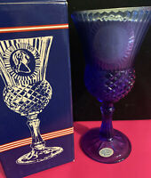 Vintage Avon The Washington Goblet Fostoria Candle Holder With Candle And Box