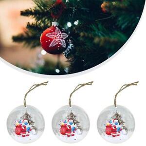 2021 Santa Claus decoration pendant resin painted Christmas tree hanging pendant