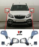 NEW OPEL VAUXHALL MOKKA 12-16 NEW WING MIRROR ELECTRIC HEATED PRIMED PAIR LHD