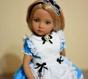 dianna effner, outfit for dolls, little darling dress, alice in wonderland
