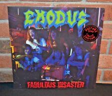 "EXODUS - Fabulous DIsaster, Ltd Import 12"" PICTURE DISC Gatefold New & Sealed!"