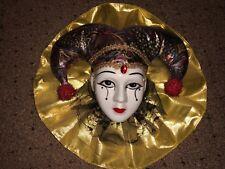 Beautiful Lady Face Mask Wall Hanging Decor