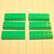 LEGO Bausteine & Bauzubehör Lego® Creator  6 Steine 2 x 6 Grün  4181135  44237