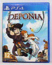 DEPONIA - PLAYSTATION 4 PS4 PLAY STATION - PAL ESPAÑA - 1
