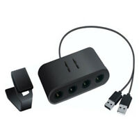 GAMECUBE CONTROLLER ADAPTER FOR WII U SUPER SMASH BROS PC USB & NINTENDO SWITCH