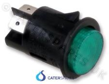 ROUND GREEN SWITCH FOR HEATED GANTRY UNIT ON / OFF POWER SWITCH DOUBLE POLE
