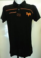 Ospreys NERO dri-lite Polo Shirt by Kooga TAGLIA XL Nuovissimo Con Etichette