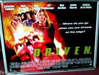 Cinema Poster: DRIVEN 2002 (Quad) Sylvester Stallone Gina Gershon Til Schweiger