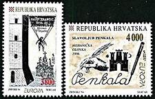 CROATIA 1994  EUROPA - CEPT  inventors  mnh PARACHUTE
