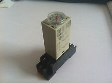 AC 110V H3Y-2 Delay Timer Time Relay 0-60 Second 60s 60sec 110VAC & Base