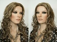 Stunning Long Soft Layered Blonde Brunette Straight Wavy Monofilament Top Wigs