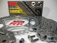 Suzuki GSXR1000 2007-08 RK 530 16/43 Chain and Sprocket Kit   Quick Acceleration