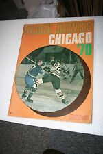 1969-70 CHICAGO BLACK HAWKS SPORTS MAGAZINE- FROM THE FORUM- EXTREMELY RARE!
