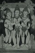 """Vintage Etching of Nudes """"From A Javanese Temple"""" by Listed Artist Nell Witters"""