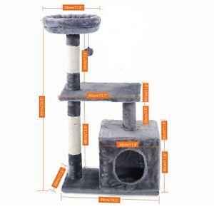 Luxury Pet Cat Tree House Multi-Layer Cat Tree Cat House Cat Scratcher Cat Condo