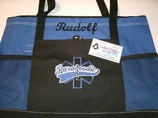 Paramedic Star of Life Personalized Tote Bag