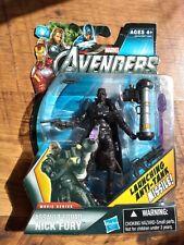 Marvel Universe Legends NICK FURY 3.75 in. Action Figure assault squad movie CMU