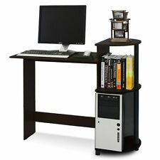 Small Computer Desk Student Dorm Home Office Compact Laptop Study Table Wood