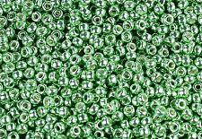 11/0 Galvanized Sea Foam TOHO Round Glass Seed Beads 10 grams #560