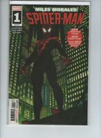 Marvel Miles Morales Spiderman 1 Rare High Grade NM 9.0 Comic Scan 2019 Ahmed
