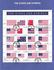 #0019 Stars & Stripes Stamps MS20 #3403 Souvenir Page