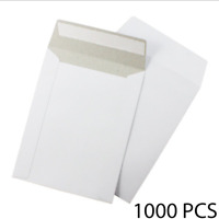 1000 - 7x9'' ECOSWIFT THIN LIGHTWEIGHT FLAT PHOTO MAILERS - SELF SEAL - WHITE