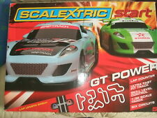 COMPLETE BOXED GT POWER SCALEXTRIC SET.