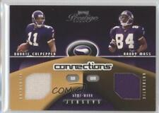 2002 Playoff Prestige Connections /500 Daunte Culpepper Randy Moss #C-28 HOF