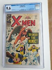 X-MEN 27 - CGC NM 9.6 - SPIDER-MAN CAMEO - MIMIC - SCARLET WITCH (1964)