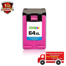 Remanufactured 64XL N9J91AN Tri-color Ink Cartridge For HP ENVY 6255 7155 7855