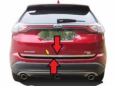 Fits Ford Edge 2015-2018 Stainless Polished Chrome Rear Deck Lower Trunk Trim