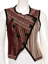 STUNNING, NEW, SOLD OUT $1,195 WOOL VEST BY JEAN PAUL GAULTIER