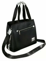 NEW VERSACE BLACK AND SILVER TOTE SHOPPER SHOULDER HAND BAG TRAVEL DUFFLE