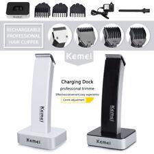 KEMEI Men Electric Hair Clipper Beard Shaver Razor Nose Trimmer Shaving Machine