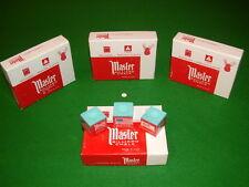 12 Genuine Master Chalk in Green Snooker, Pool, Billiards, Made in USA