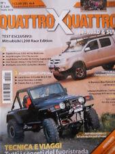 Quattro X Quattro Off-Road & SUV n°1 2009 Mitsubishi L 200 Jeep Wrangler TJ[P38]