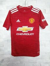 adidas 2020-21 MANCHESTER UNITED YOUTH HOME JERSEY (FM4292) RED-WHITE