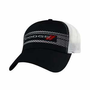 Official Dodge Embroidered Patch Mesh Baseball Cap