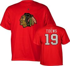 NHL T-Shirt Chicago Blackhawks Jonathan Toews Trikot Jersey Eishockey