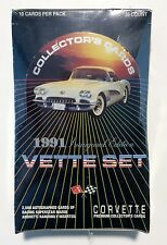 1991 Collect-A-Card VETTE SET card box Inaugural Edition from a sealed case 36pk