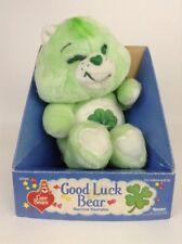 "New Vintage 1983 Kenner Original Care Bear 13"" GOOD LUCK Bear Stuffed Plush"