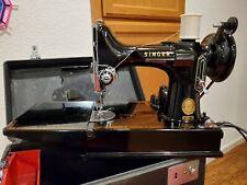 New Listing221 Singer Featherweight Sewing Machine Vintage #Am410965 1956 Nice Stitch