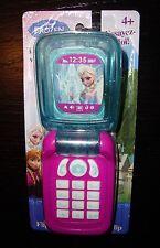 DISNEY FROZEN ELSA & ANNA TOY FLIP CELL PHONE - NEW!