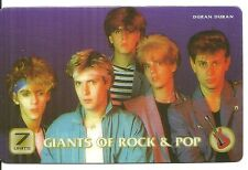 RARE / CARTE TELEPHONIQUE PREPAYEE - DURAN DURAN / PHONECARD COMME NEUF LIKE NEW