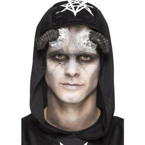Latex Demon Horn Prosthetics Halloween Fancy Dress Special FX Make Up