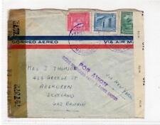 VENEZUELA: 1941? Censored Air Mail cover to Scotland (C36295)