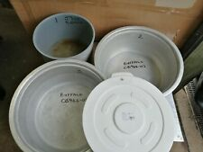 More details for no206 buffalo cb944-02 alli bowls / buffalo j300alli bowl / gg795 container lid