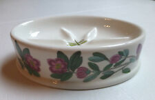 Portmeirion Botanic Garden Soap Dish – Rhododendron Oval Soap Dish